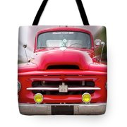 A Nice Red Truck  Tote Bag