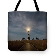 A Night At Bodie Island Lighthouse Tote Bag
