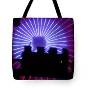 A Night At Santa Monica Pier Tote Bag