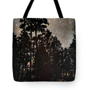 The Forest Night Tote Bag