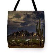 A Night In The Superstitions  Tote Bag