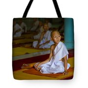 A Novice Monk In Rural Thailand Tote Bag
