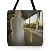A Nun In A Monastery  Tote Bag