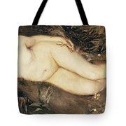 A Nymph By A Stream Tote Bag