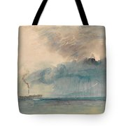 A Paddle-steamer In A Storm Tote Bag