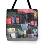 A Painting Artist Tote Bag