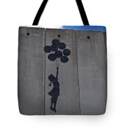 A Painting On The Israeli Separartion Tote Bag