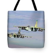 A Pair Of Bulgarian Air Force Sukhoi Tote Bag
