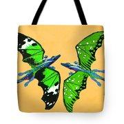 A Pair Of Dragons Tote Bag
