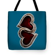 A Pair Of Hearts Tote Bag