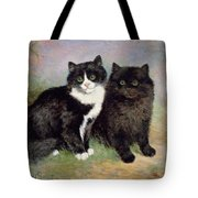 A Pair Of Pussy Cats Tote Bag