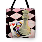 A Pair Of Queens Tote Bag