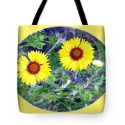 A Pair Of Wild Susans Tote Bag