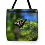 A Pale Swallowtail Tote Bag