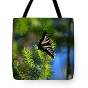 A Pale Swallowtail Vertical Tote Bag