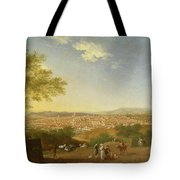 A Panoramic View Of Florence From Bellosguardo Tote Bag