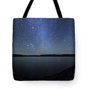 A Panoramic View Of The Milky Way Tote Bag