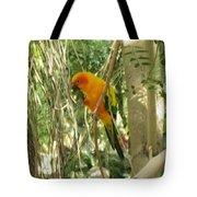 A Parakeet In Paradise Tote Bag