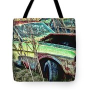 A Parted Out Mustang Tote Bag