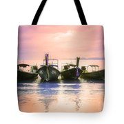 A Pastel Sunset Tote Bag