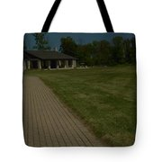A Path To Shelter Tote Bag by Cim Paddock