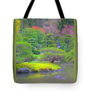 A Peaceful Garden Tote Bag