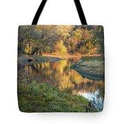 A Peak At Autumn Tote Bag