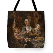 A Peasant Family Dining Tote Bag