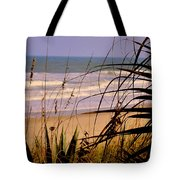 A Peek At The Shore Tote Bag