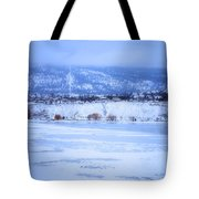A Penticton Winter Tote Bag