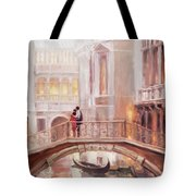 A Perfect Afternoon In Venice Tote Bag