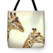 A Perfect Pair- Masai Giraffe Tote Bag
