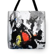A Perfect Storm Tote Bag by Rick Baldwin