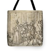 A Performance By The Commedia Dell'arte Tote Bag