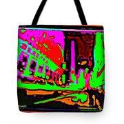 A Peter Max City Tote Bag