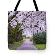 A Pink Pathway Tote Bag