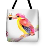 A Pink Rainbow Tote Bag