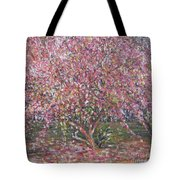 A Pink Tree Tote Bag