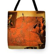 A Pirates Map Room Tote Bag