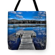 A Place To Dock On The Moose Tote Bag