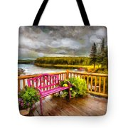 A Place To Relax And Enjoy Tote Bag