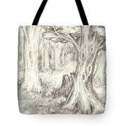 A Place To Rest In The Trees Tote Bag
