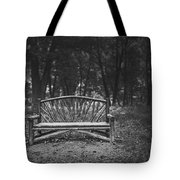 A Place To Sit 6 Tote Bag