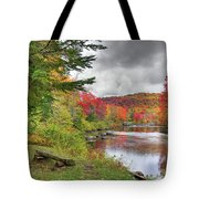 A Place To View Autumn Tote Bag