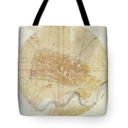 A Plan Of Imola Tote Bag