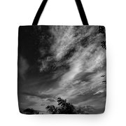 A Plane In The Clouds Tote Bag