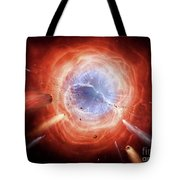 A Planetary Nebula Is Forming Tote Bag