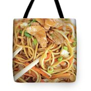 A Plate Of Noodles Tote Bag