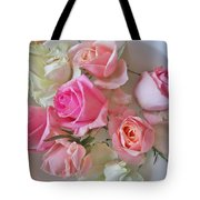 A Plate Of Roses Tote Bag