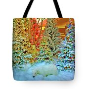 A Polar Bear Christmas 2 Tote Bag